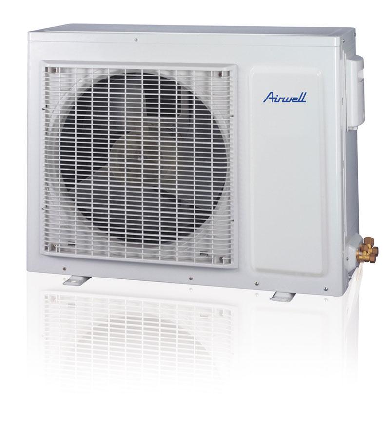 S n gal climatiseur split mural airwell hmf018 2 5 cv for Climatiseur mural carrier 12000 btu