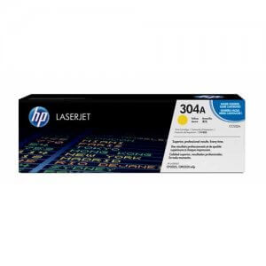 HP 304A Toner authentique Jaune (CC532A) - 2800 pages