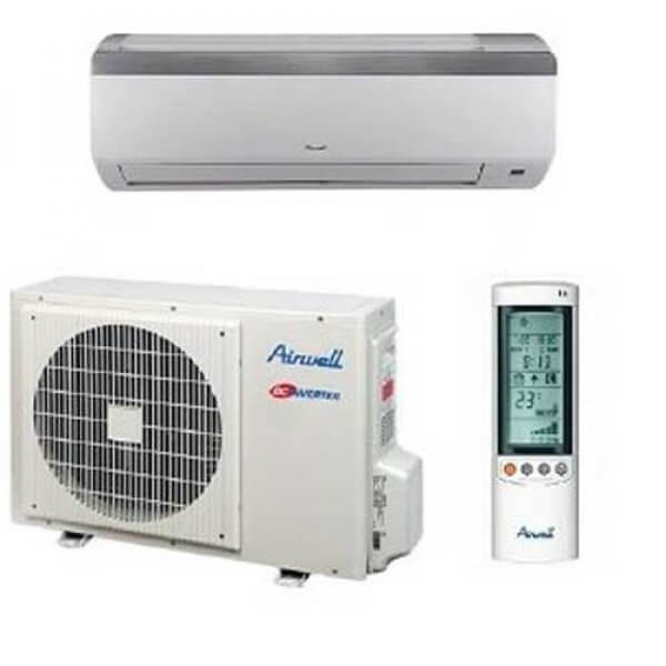 Split Airwell inverter 4D 24000 BTU 3CV HHD24/ incluant installation