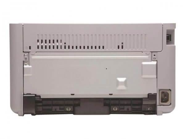 Vue arrière Imprimante laser HP PRO 1102