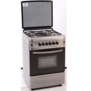 Cuisiniere 4 feux FERRE Silver-60X60-F6B40G2-HI