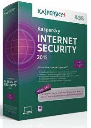 Logiciel Kapersky internet security 2015 -2 postes