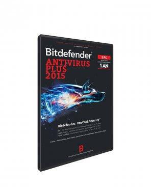Bitdefender Antivirus Plus 2015 - 1 AN 3 POSTES