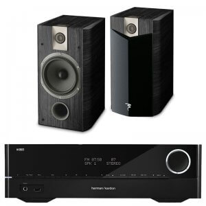 Pack Hifi HARMAN KARDON HK3700 + FOCAL CHORUS 706 V2 BLACK ASH