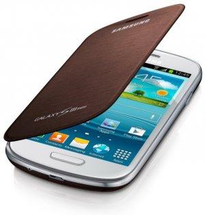 pochette pour Samsung Galaxy S3 mini marron