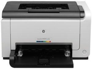 Vue face Imprimante couleur HP LaserJet Pro CP1025 (CF346A)