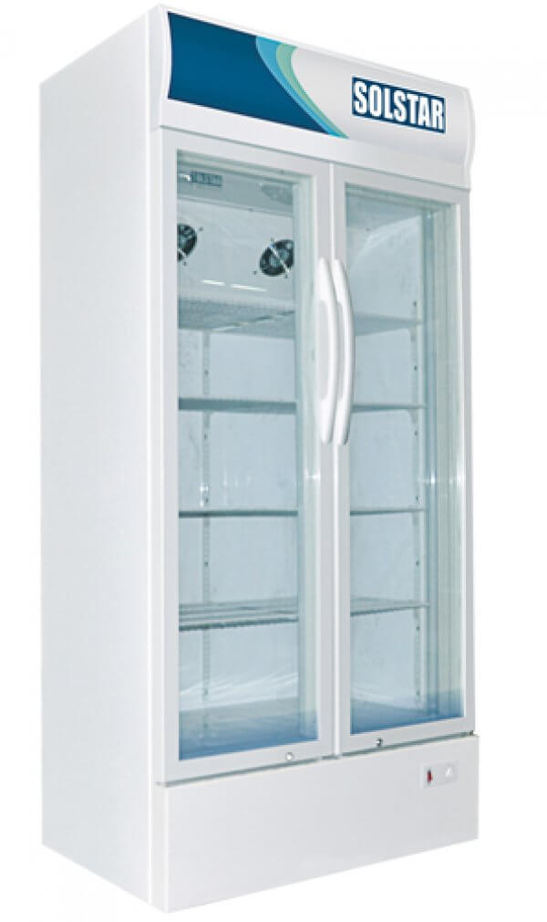 Réfrigérateur vitrine 650L Solstar VC6500