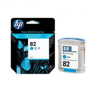 HP DesignJet 82 cartouche d'encre cyan - ( C4911A )