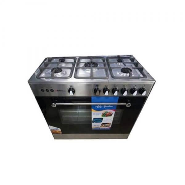 Cuisinière Tecnolux 5 Feux 90X60 Silver