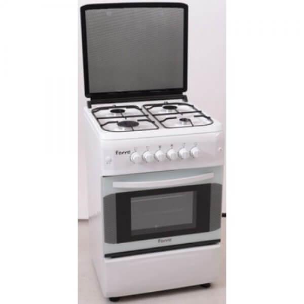 cuisinière-ferre-50/50-blanche
