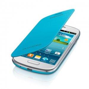 pochette pour Samsung Galaxy S3 mini bleue