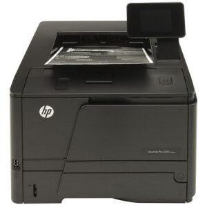 Vue de face Imprimante HP LaserJet Pro 400 CF278A