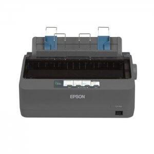 Vue de facce Imprimante matricielle Epson LX-350