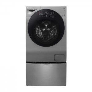 Machine à laver 12 kg+ sèche linge 8KG LG- FH6G1BCHK6N