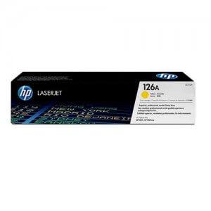 HP 126A Toner authentique Jaune (CE312A) - 1000 pages