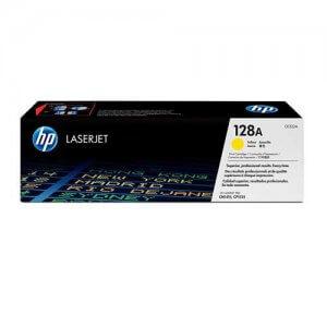 HP 128A Toner authentique Jaune (CE322A) - 1300 pages