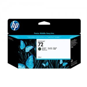 HP 72 cartouche d'encre DesignJet noir mat - ( C9403A )
