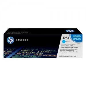 Cartouche de toner HP Laserjet  125A - Toner Cyan - 1400 pages-(CB541A)