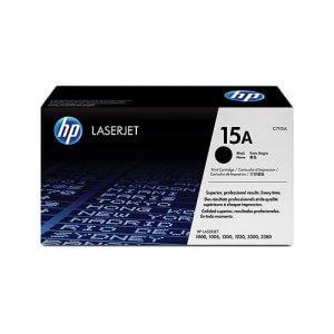 Cartouche de toner HP Laserjet 15A - Toner noir - 2500 pages - C7115A