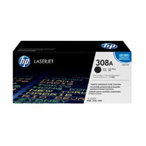 HP 308A toner LaserJet noir authentique - 6000 pages- (Q2670A)