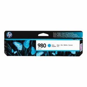 HP 980 Cartouche d'encre cyan authentique - (D8J07A)