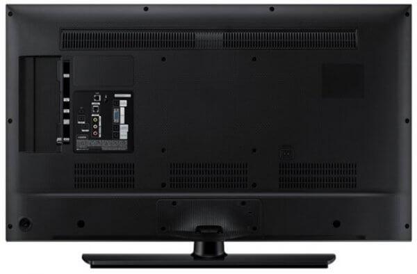 Vue arrière Samsung TV HG48AD670
