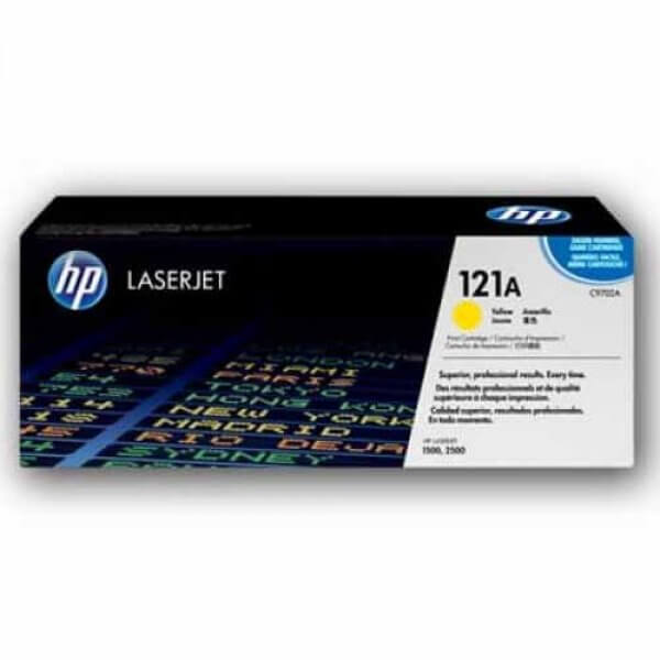 HP 121A Toner authentique HP Yellow - 4000 pages -C9702A (
