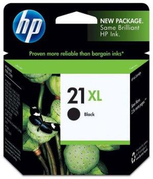 Cartouche d'encre noir HP 21XL C9351CE