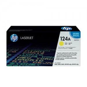 Cartouche de toner HP Laserjet 124A jaune(Q6002A)