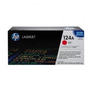 Cartouche de toner HP Laserjet 124A magenta(Q6003A