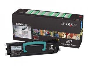 Cartouche toner noir Lexmark E250A11E