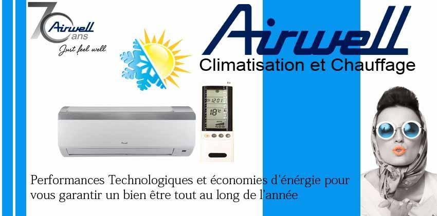 climatisation, split, Airwell, VRF