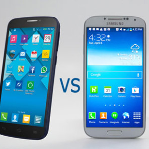 comparaison smarphone alcatel POPC7 et Galaxy S5