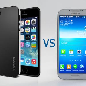 Comparatif Samsung S5 VS Iphone 5S