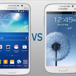 Comparaison entre le Samsung galaxy grand et le Grand 2
