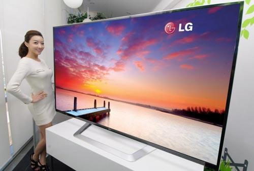 Téléviseur LG 8K CES2015