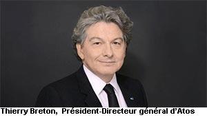 Thierry Breton, PDG Atos France