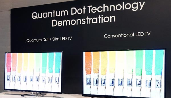 Tendances 2015 pour les téléviseurs: Quantum Dot