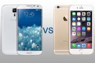Comparaison Samsung S6 edge contre Iphone 6