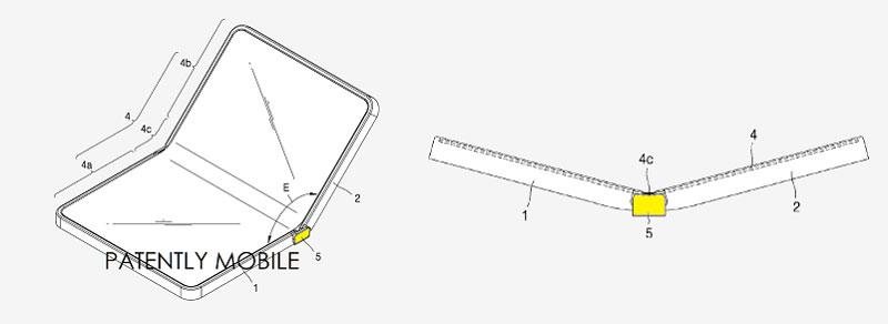 Projet Valley de Samsung, écran pliable